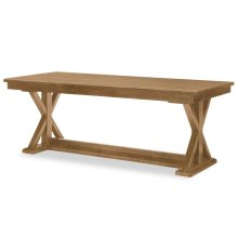 Everyday Dining by Rachael Ray Trestle Table - Nutmeg