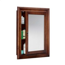Traditional Solid Wood Framed Medicine Cabinet in Colonial Cherry