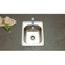 Topmount Large Bar Sink 1722-7bs