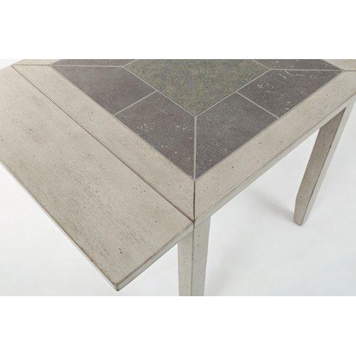 Sarasota Springs Tiled Drop Leaf Table