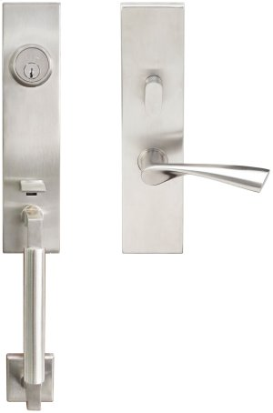 "NY Handleset Tubular Breeze Entry 2-3/8"" 32D LH Product Image"