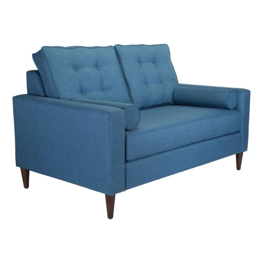 Morgan Loveseat Blue