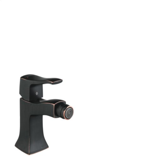 Rubbed Bronze Single-Hole Bidet Faucet