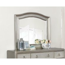 Bling Game Dresser Mirror With Arched Top
