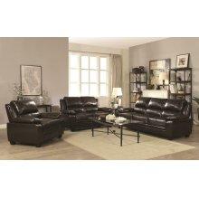 Gryffin Brown Motion Three-piece Living Room Set