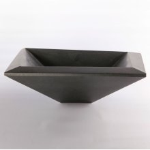 Concept II Vessel Sink, Honed Black Granite