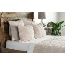 Heirloom Natural Quilt 5Pc Queen Set