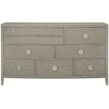 Linea Dresser in Cerused Greige (384)