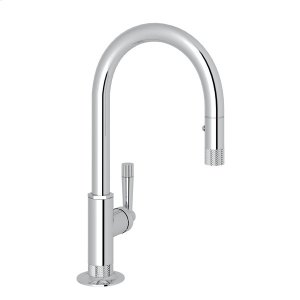 Polished Chrome Michael Berman Graceline Pull-Down Bar/Food Prep Faucet Product Image