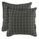 Hudson Plaid 2Pc Euro Sham Set Product Image