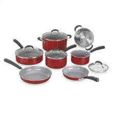 11 Piece Set Ceramica XT Nonstick Cookware