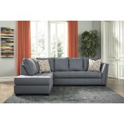 Filone - Steel 2 Piece Sectional Product Image