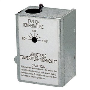 Powered Attic Ventilator Automatic, Adjustable Thermostat