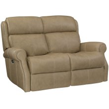 McGwire Power Motion Loveseat in #6 Antique Brass
