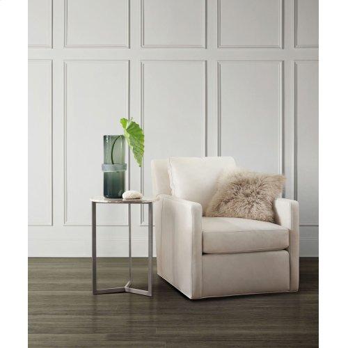 Living Room Vellum Accent Table