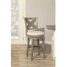 Sunhill Swivel Counter Stool - Weathered Gray