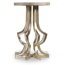 Living Room Metal Chairside Table