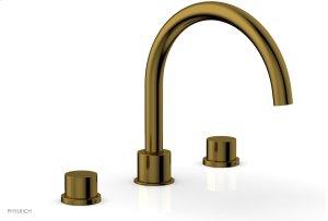BASIC II Deck Tub Set 230-41 - French Brass Product Image