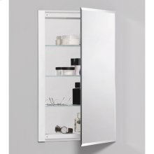 "R3 Series 16"" X 26"" X 4"" Single Door Cabinet With Bevel Edge"