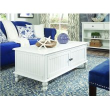 Coffee Table in Beach White