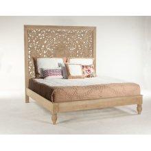 Taj King Bed Whitewash