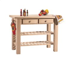 WC-4824 Super Kitchen Island