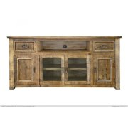 """70"""" TV Stand w/ 2 Drawers & 4 Doors Product Image"""