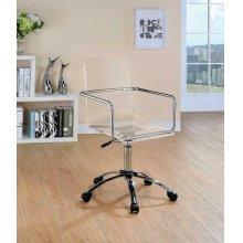 Contemporary Clear Acrylic Office Chair