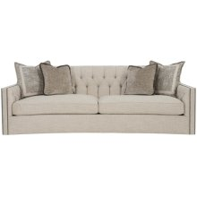 """Candace Sofa (96"""") in #44 Antique Nickel"""