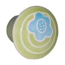 Small Round Ceramic Knob