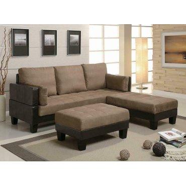 Ellesmere Contemporary Tan Sofa Bed