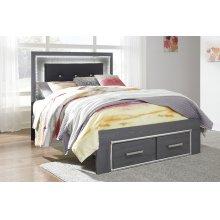 Lodanna - Gray 3 Piece Bed Set (Full)