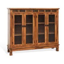 Sedona Bookcase w/ 4 Doors