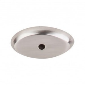 Aspen II Oval Backplate 1 1/2 Inch - Brushed Satin Nickel Product Image