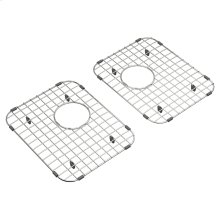 Sink Grid for Quince 33x22 Double Bowl Kitchen Sinks  American Standard - Stainless Steel