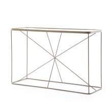 Lucas Console Table-antique Brass