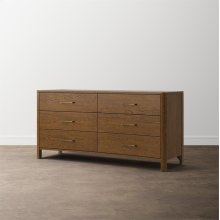 MODERN Catania 6 Drawer Dresser