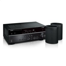 MusicCast RX-V585 Bundle - Black 7.2-Channel AV Receiver with MusicCast