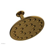 "24 Jet 10"" Ceiling Mount Shower Head K835 - French Brass"