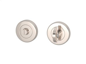 Half Moon Turn & Release Solid In Polished Nickel Product Image