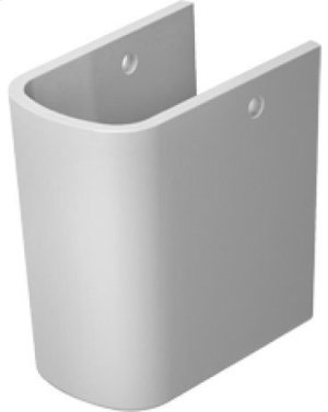 White Durastyle Siphon Cover Product Image