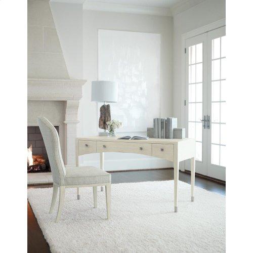 East Hampton Desk in Cerused Linen (395)