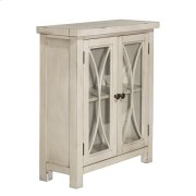 Bayside 2 Door Cabinet - Antique White Product Image