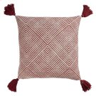 Tanner Pillow Cover Rust Product Image