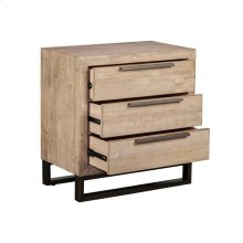 Vogue 3Dwr Nightstand Taupe