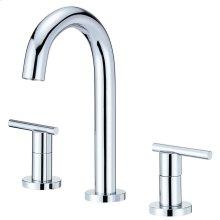 Chrome Parma® Two Handle Widespread Lavatory Faucet