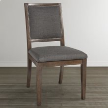 Custom Dining Square X-Back Uph Arm Chair
