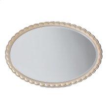 Oval Wall Mirror Chardonnay