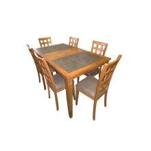 Slate Tile Ext. Leg Table
