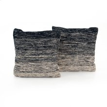 "20x20"" Size Midnight Ombre Pillow, Set of 2"
